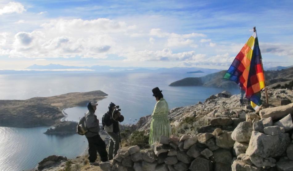 le Wapikoni en tournage (Bolivie)